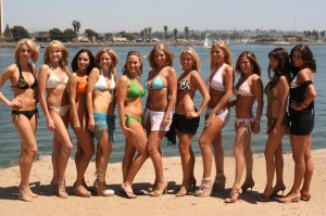 photo of Miss Mission Beach 2008 Contestants